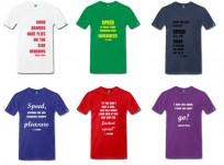 Nye sitat t-skjorter!
